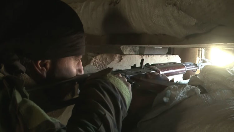 Video: La guerra en Siria continúa en túneles en los suburbios de Damasco