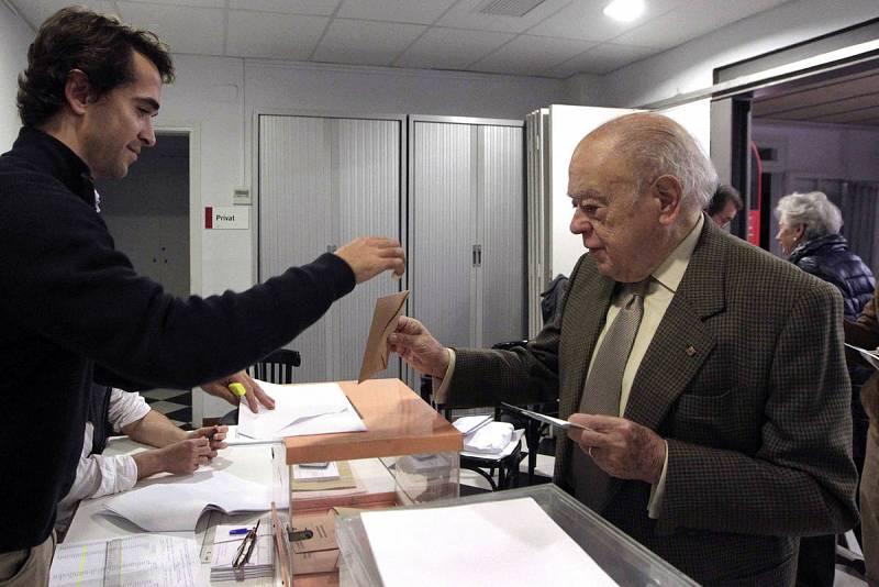 La Jornada electoral de elecciones Generales 2015 en España en imágenes