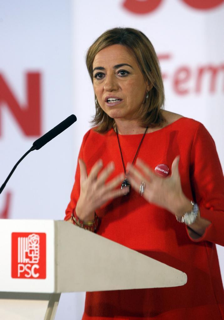 Chacón prefiere que el PSOE pacte con Pablo Iglesias y NO con Rivera de Ciudadanos (C's)