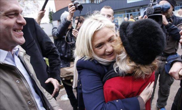 El Frente Nacional de Le Pen, partido más votado en Francia según las primeras proyecciones