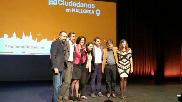 Albert Rivera critica desde Las Islas Baleares el concepto separatista de 'Países Catalanes'