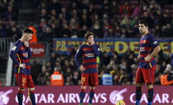 """Andrés Iniesta: """"Es un poco inexplicable"""". FC Barsa se estrella en el Campo Nuevo 2-2"""