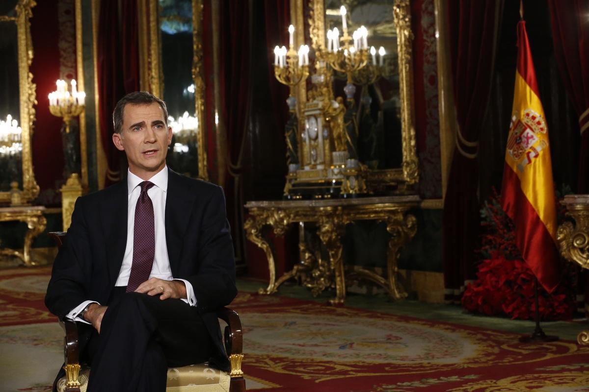 Discurso completo del Mensaje de Navidad 2015 de Su Majestad el Rey Felipe VI