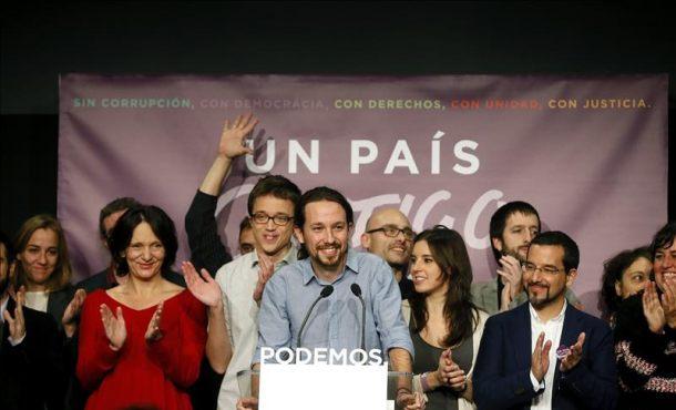 Pablo Iglesias: España ha votado un cambio de sistema y un reforma constitucional
