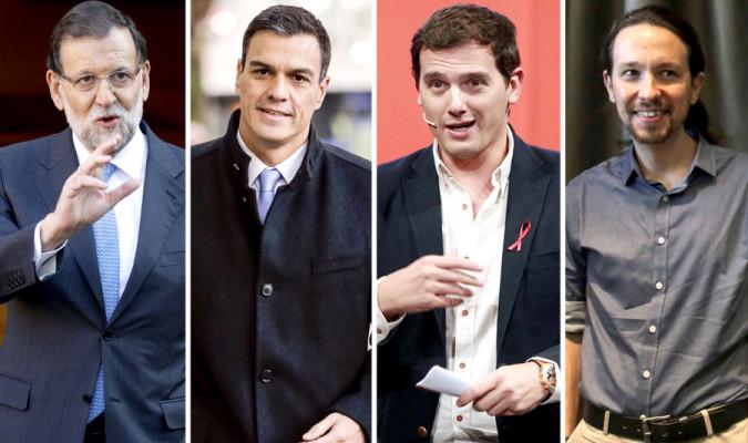 Rivera líder mejor valorado, el PP ganaría en solitario el 20D, cae el PSOE y Podemos remonta