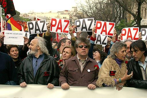 """Torrijos denuncia """"un intento de manipulación"""" de los 'No a la Guerra' a """"pocos días"""" del 20-D"""