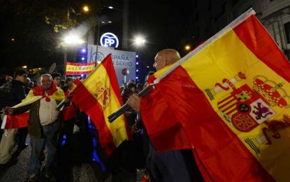 El PSOE pierde 3,3% puntos, Podemos en segunda posición y el PP imparable crece un 1,8%