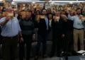 Lara y Abascal (VOX) llenan en Madrid pese al secuestro de su propaganda electoral por la JEC