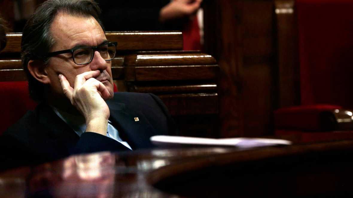 Artur Mas renuncia a su acta de diputado autonómico del Parlamento regional de Cataluña