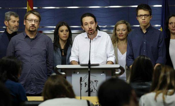 Podemos presenta su batería de medidas para controlar a medios como en una tiranía venezolana