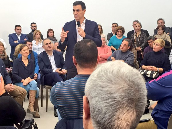 """Sánchez: """"Señor Rajoy, NO es NO"""" a la gran coalición PP-PSOE para perpetuarte """"al poder"""""""