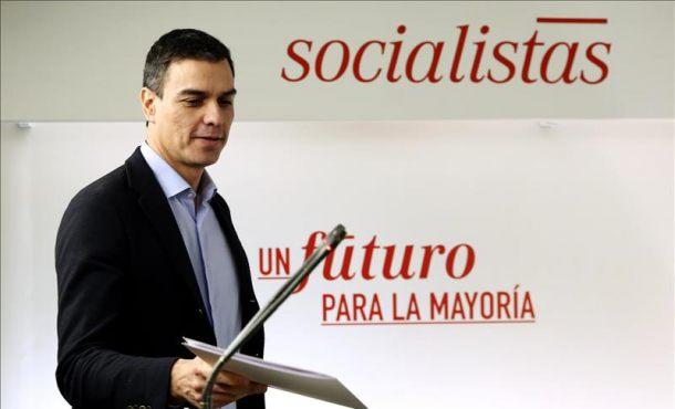 """Sánchez: """"¿Qué parte del 'no' ha entendido Rajoy? O se presenta o deje que intentemos"""""""