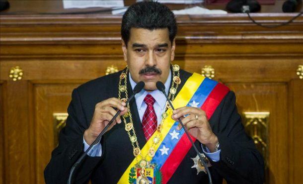 """Maduro ataca y llama a """"unión nacional"""" en Venezuela """"para la construcción de una nueva economía"""""""