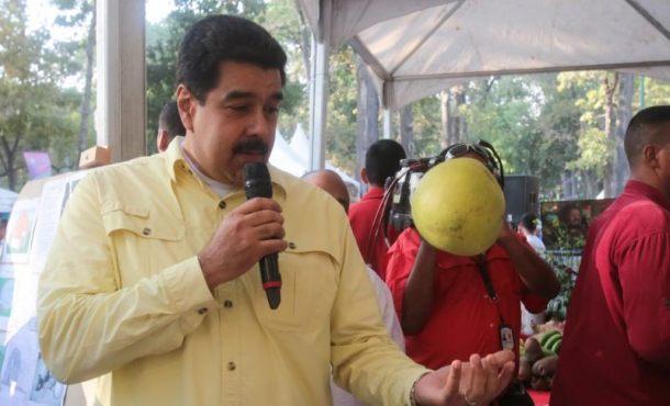Maduro pide a la FAO apuntalar el plan de desarrollo de la agricultura venezolana