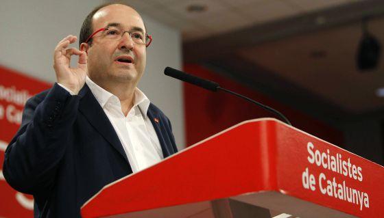 El PSC rechaza una coalición PSOE-PP e insta Sánchez buscar apoyos para constituir un gobierno reformista