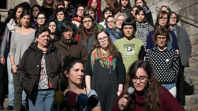 """CUP en defensa de la mujer: """"Soy puta, gorda, fea, retrasada y malfollada para hacer política"""""""