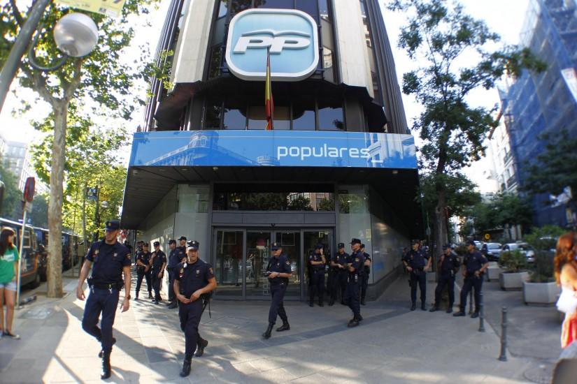El PP declara hoy ante la juez por el borrado de los discos duros de Bárcenas