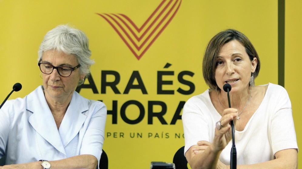 La separatista Muriel Casals continúa ingresada en la UCI estable dentro de la gravedad