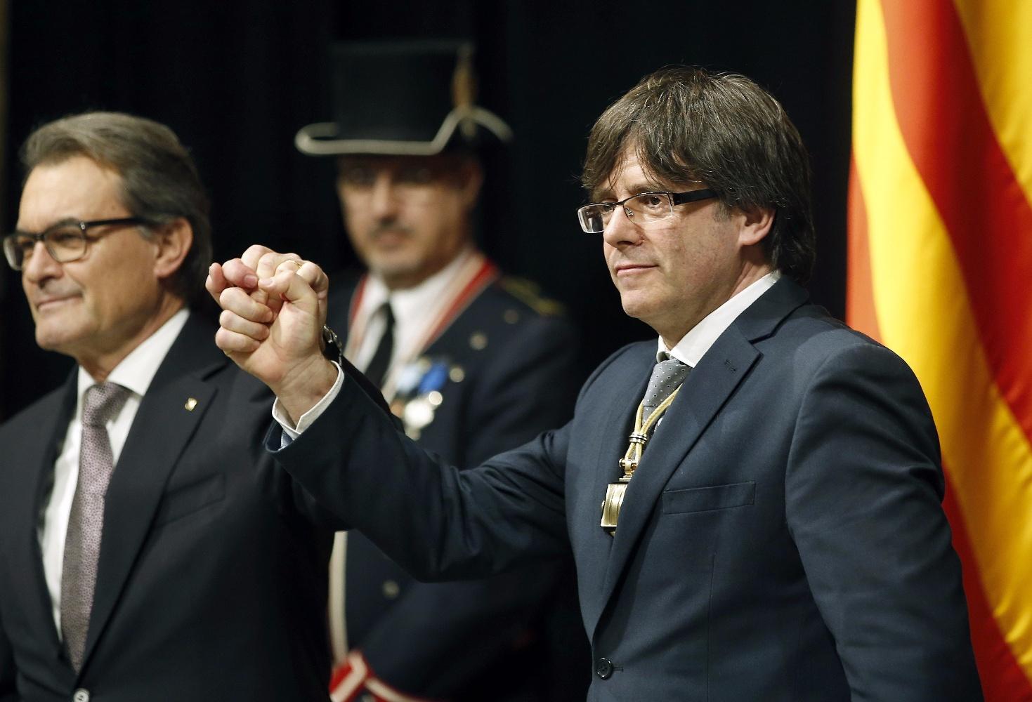 """García: """"No estamos ante ningún proceso pacifico ni democrático ni mayoritario"""" en Cataluña"""
