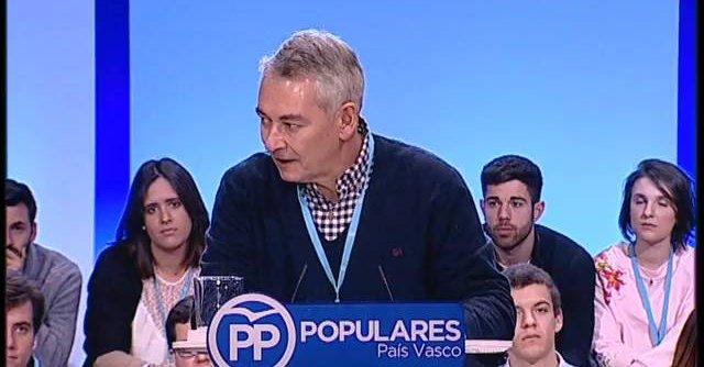 """Vídeo – El presidente PP de Vizcaya a Rajoy:  """"Estamos hasta los cojones"""" de la corrupción """"del PP"""""""