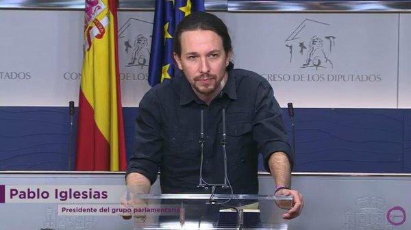 """Iglesias mantiene ante el Rey su """"propuesta de vicepresidencia"""" en un Gobierno con el PSOE"""