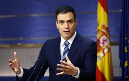 """Pedro Sánchez gana las primarias del PSOE con un 40% escrutado, """"Sánchez es el ganador"""""""