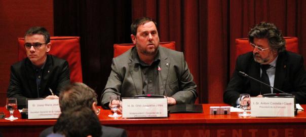 Junqueras iniciará conversaciones con todos los grupos para trabajar en un acuerdo presupuestario