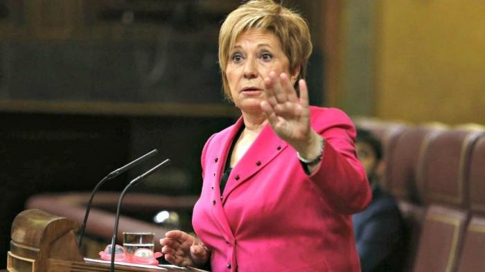 La diputada y miembro del PP en la Mesa del Congreso de los Diputados, Celia Villalobos.
