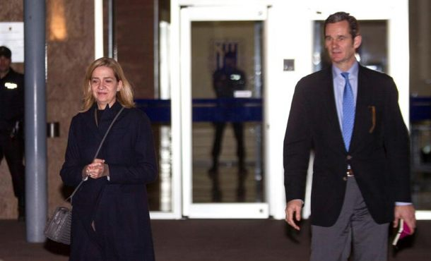 La séptima jornada del juicio del caso Nóos con la infanta Cristina y su esposo arranca hoy