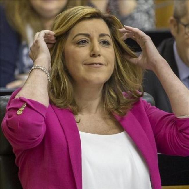 """Susana Díaz: """"La falta de respuesta  contundente ante corrupción ha creado la tormenta perfecta"""""""