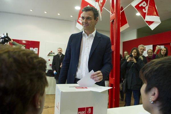 Resultados Consulta a la militancia del PSOE: Cataluña dice 'Sí' con 79,04% y el País Vasco 90,62%