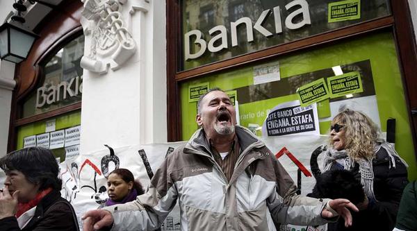 Bankia (Caja Madrid) devolverá todo lo invertido a minoristas que compraron en la salida a Bolsa