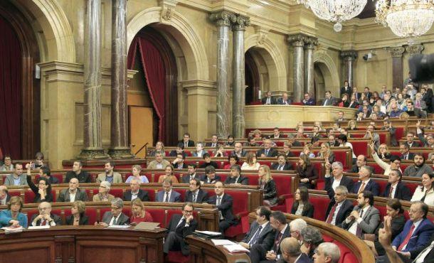 El TSJC no aprecia delito en la declaración de ruptura con España del Parlamento de Cataluña