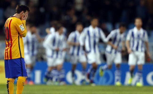 """""""Hay liga"""": El FC Barsa vuelve a caer y queda a 3 y 4 puntos de Atlético y Real Madrid"""