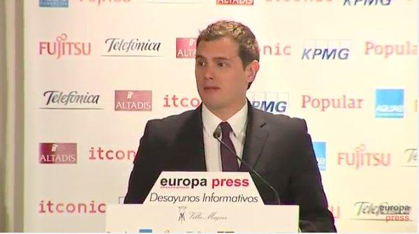 """Rivera: """"No permitiremos que aquellos que quieren romper España lleguen al Gobierno"""""""