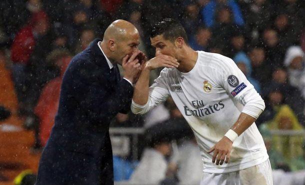 """Zidane: """"Cristiano demuestra que es el mejor jugador del mundo"""" y se deshizo en elogios hacia Cristiano"""