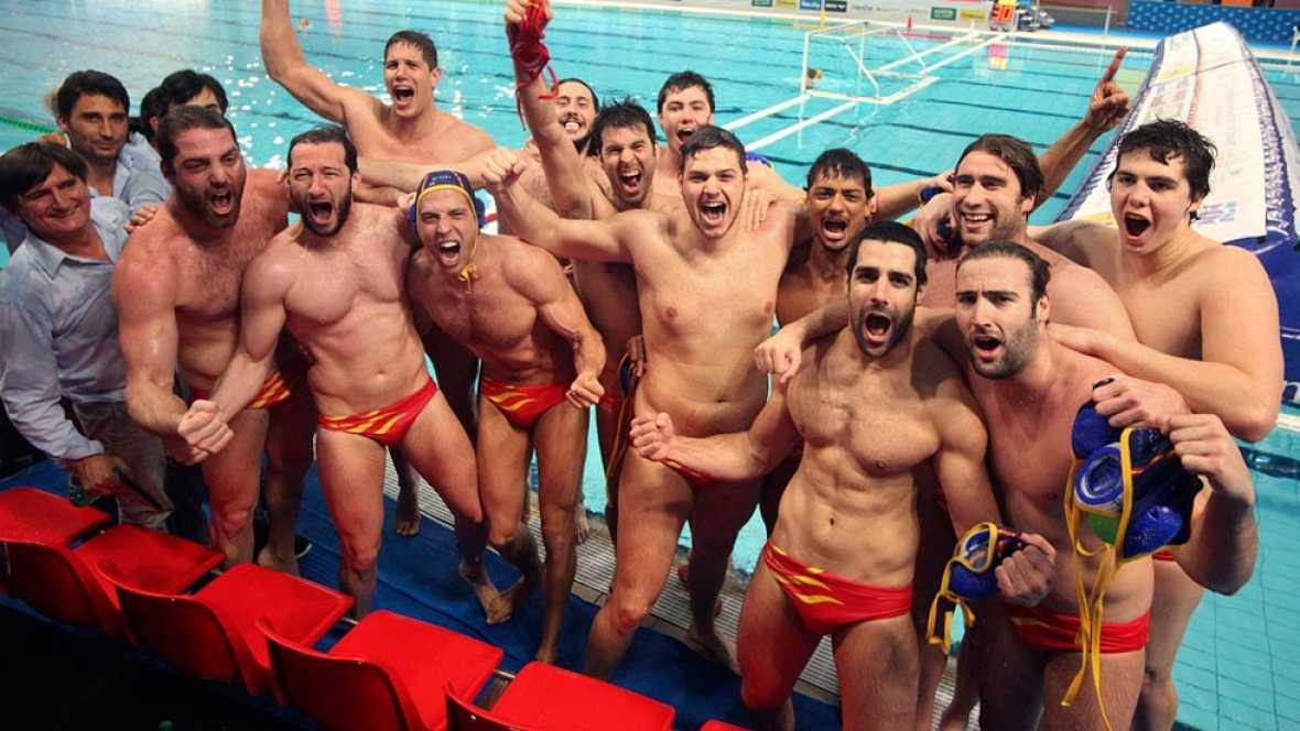 Los machos españoles de selección de Waterpolo doblegan a Canadá e irán a los JJOO de Río