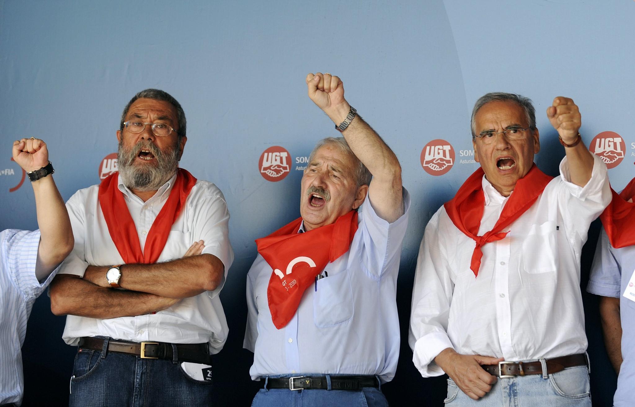 Rajoy concede la medalla al mérito en el trabajo nada más que al sindicalista rojo Méndez