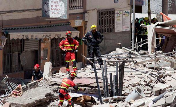 9 personas siguen sin localizarse tras la recuperación de dos cuerpos en Tenerife (Canarias)