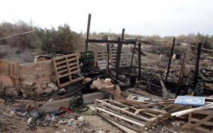 Una mujer en estado crítico tras ser quemada por su marido que se dio a fuga