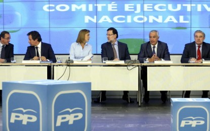 """El PP ve el '1 de Mayo' en un manifiesto: Promete """"un empleo digno"""" para la felicidad de España"""