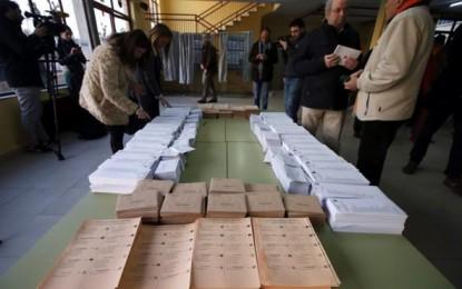 Las urnas abren en País Vasco a las 9h a 1.783.414 españoles, 8.078 electores más que hace 4 años