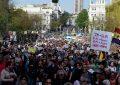 Podemitas, cargos y fundadores de Podemos vuelven a Sol pedir el voto bajo escusa del 15M