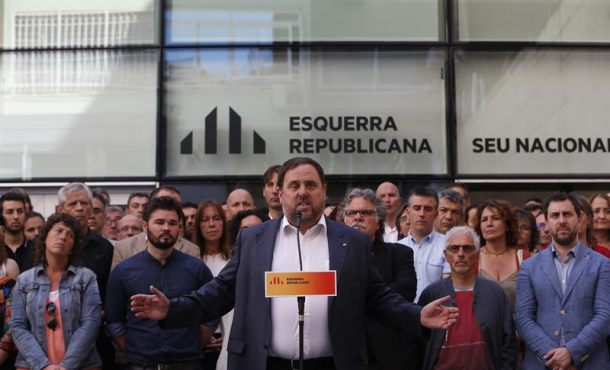 Carta de Junqueras (ERC): O referéndum o referéndum, es irrenunciable: O democracia o democracia