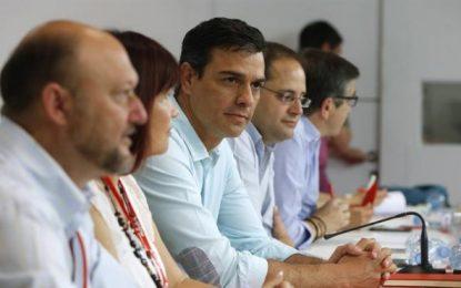 """Sánchez: PSOE no se abstendrá y votará 'NO' en las 3 opciones, """"votaremos en contra de Rajoy"""""""