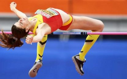 La española Ruth Beitia logra la mejor marca mundial del año con 1,95 m