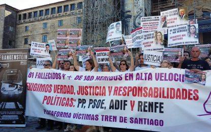 """Víctimas de Alvia español piden la dimisión de Ana Pastor (PP), """"mintió en sede parlamentaria"""""""