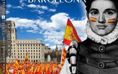 """González: """"El 12-O es la fiesta de todos los españoles e hispanos"""", 6 carteles de #Fiesta12octubreBCN"""