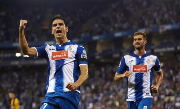 RCD Espanyol empata con Málaga en casa gracias a un doblete de Gerard Moreno (2-2)