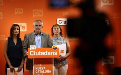 Ciudadanos C's avisa al PP que mantendrá su abstención si no hay un acuerdo este sábado 27 de agosto